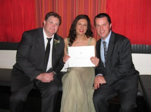 Emma & Steve wedding testimonials section
